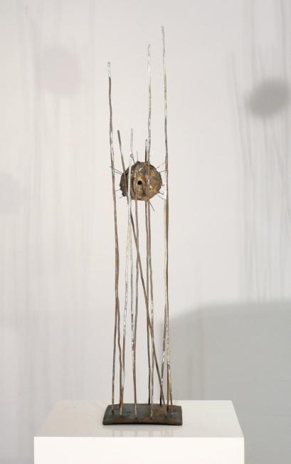 """""""sphid 1""""-maqueta de acero & bronce, 2011"""